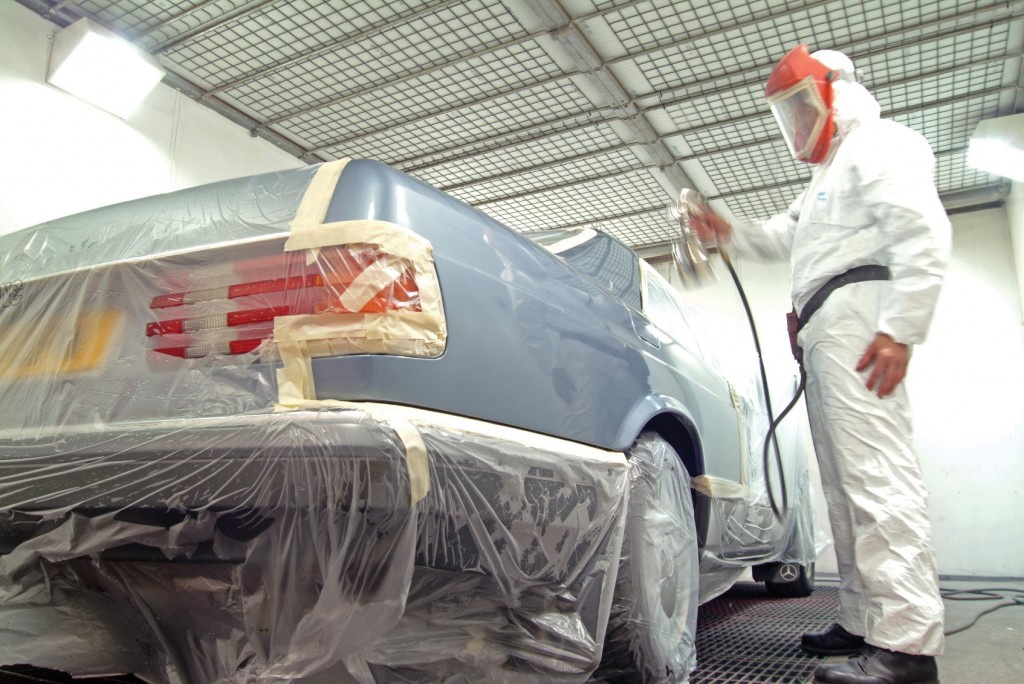 methods for stripping auto paint automotive training centre