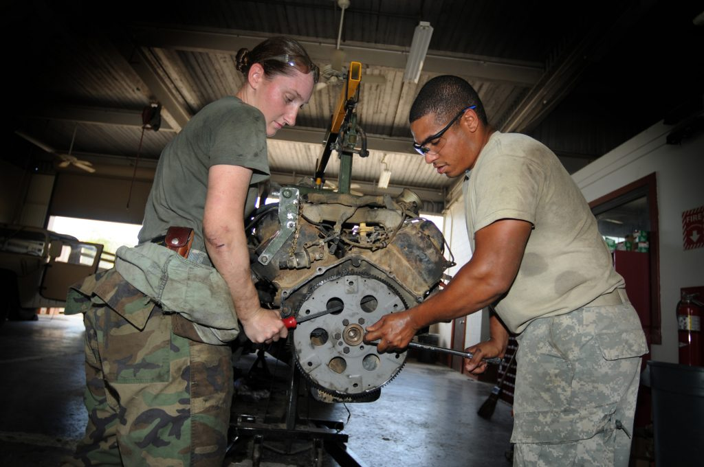 Military Mechanic Automotive Training Centre