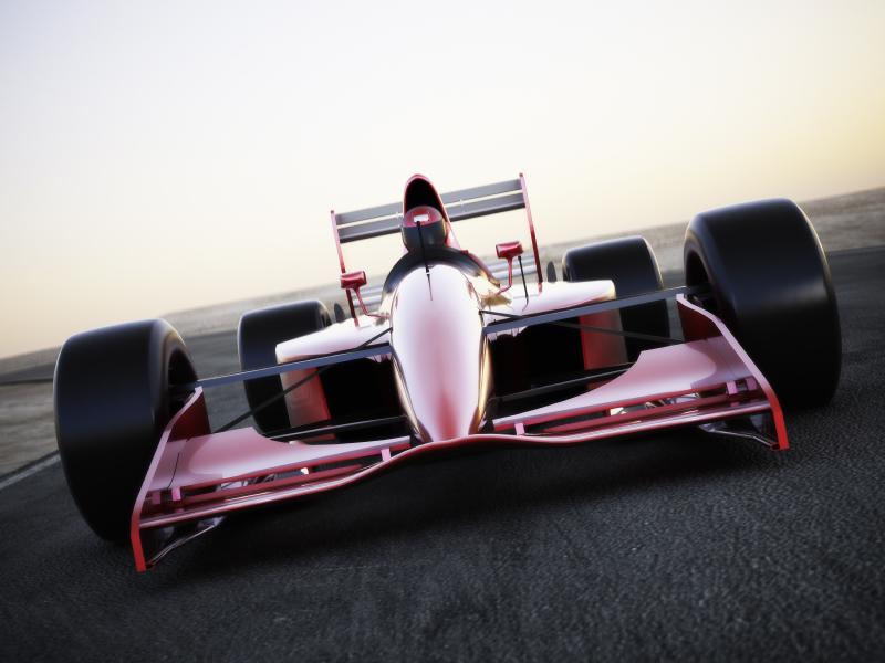 Small hemi racecar