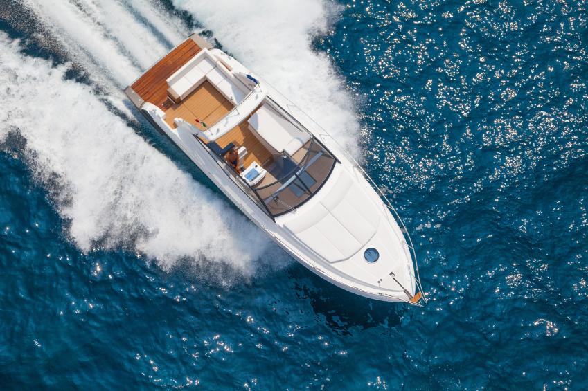 aston martin luxury boat