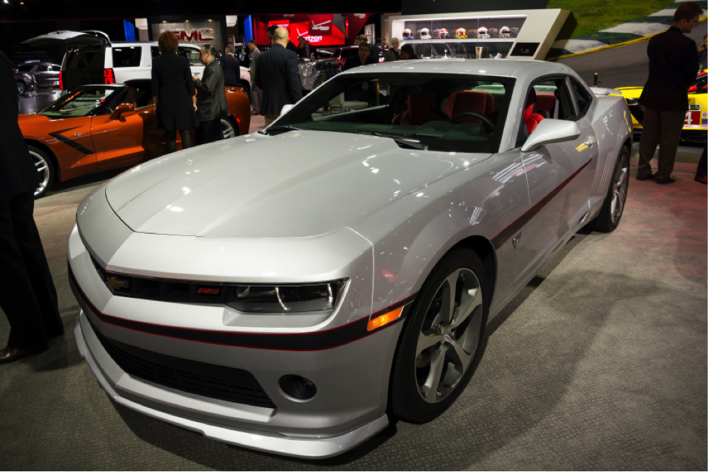 The Camaro is still going strong in 2015.