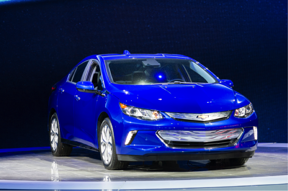 The all-new Chevy Volt, due for release in 2016