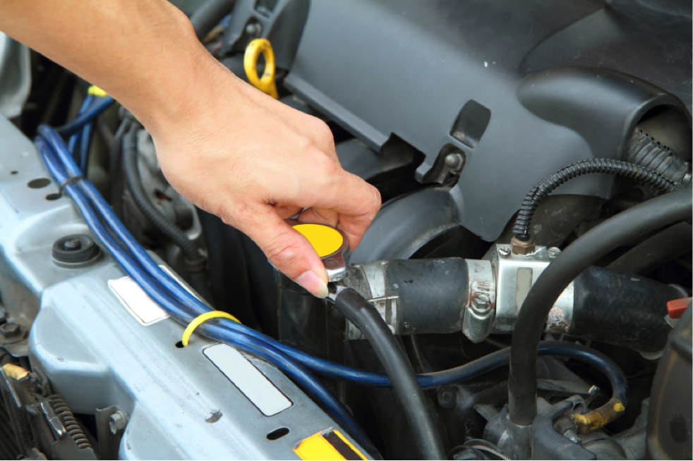 Servicing an engine cooling system is a complicated process