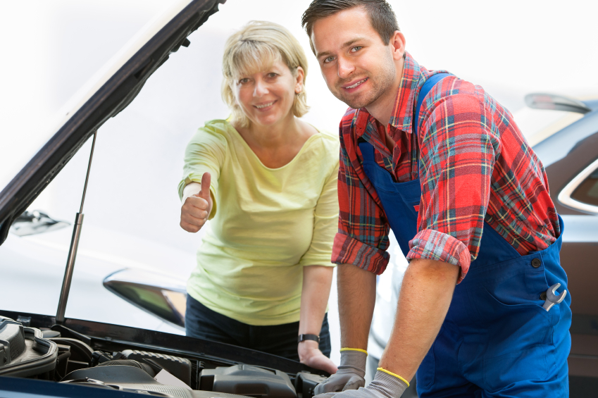 The customer should always be kept in mind when repairing a vehicle.