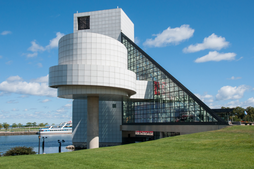 The Rock and Roll Hall Of Fame plays host to a number of famous autos.