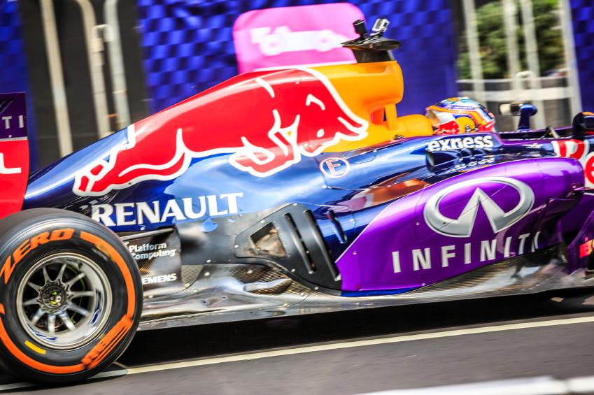 Infiniti branding will no longer appear on Red Bull cars in 2016.