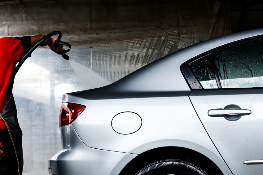 Nothing gets cars as clean as a proper wash with professional-grade car-wash liquid.