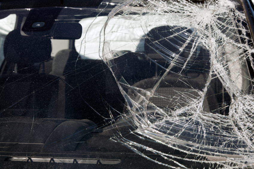 Windshield cracks can spread very quickly.
