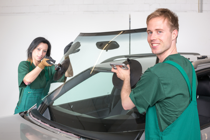 If the damage is too severe, technicians will replace the entire windshield.