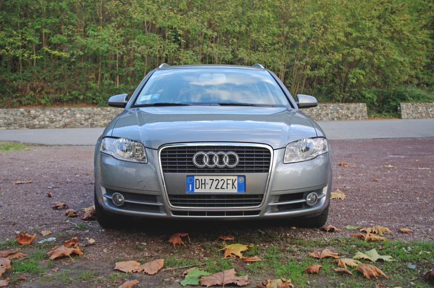 Silvercar's fleet is composed entirely of silver Audi A4 models