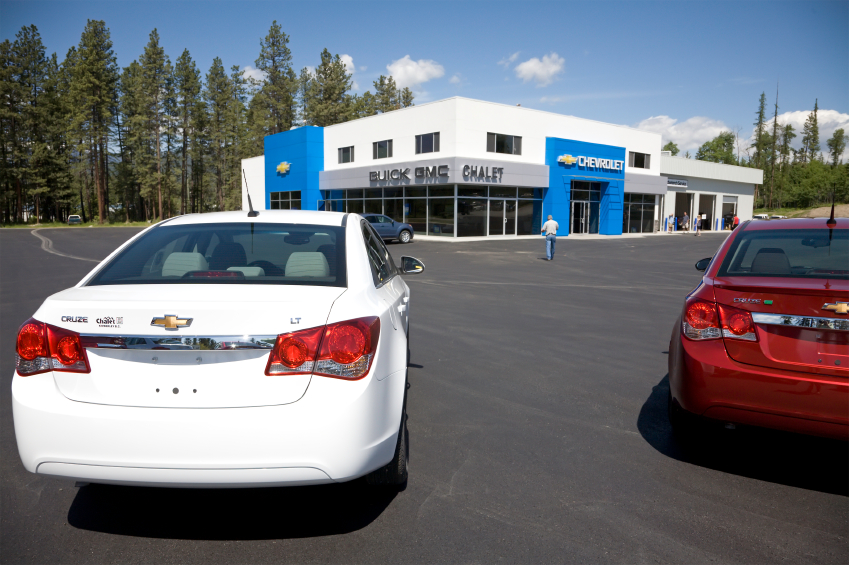 All GM dealerships use data to maximize sales.