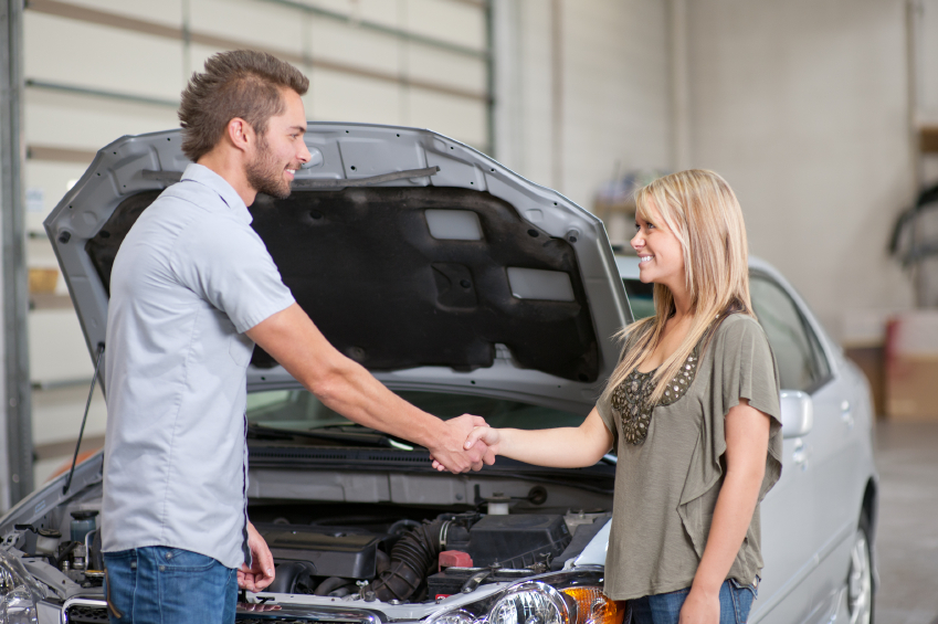 Auto service advisors know that first impressions are vital in sales.