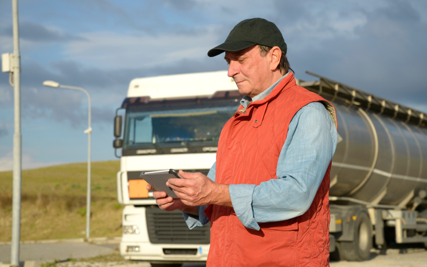 TruckerPath helps drivers plan their stops.