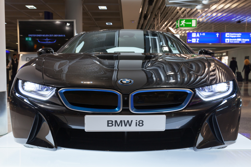Some cars, like the BMW i8, already incorporate autonomous features.