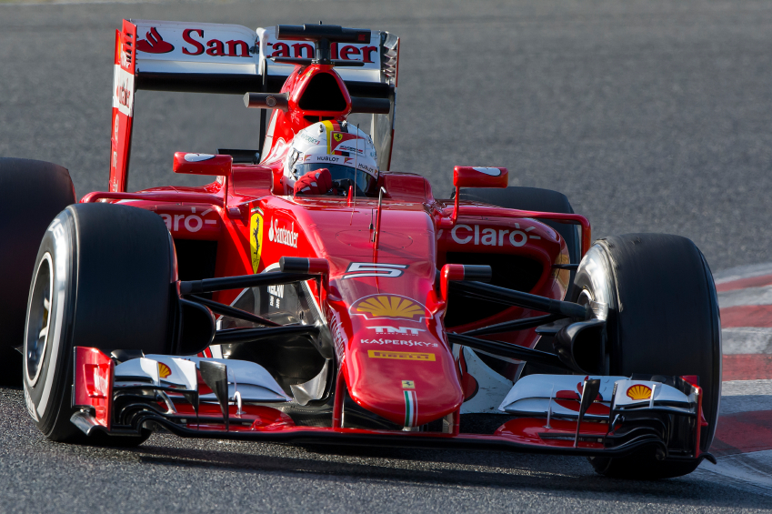Competitors like Ferrari will have new designs for 2016.