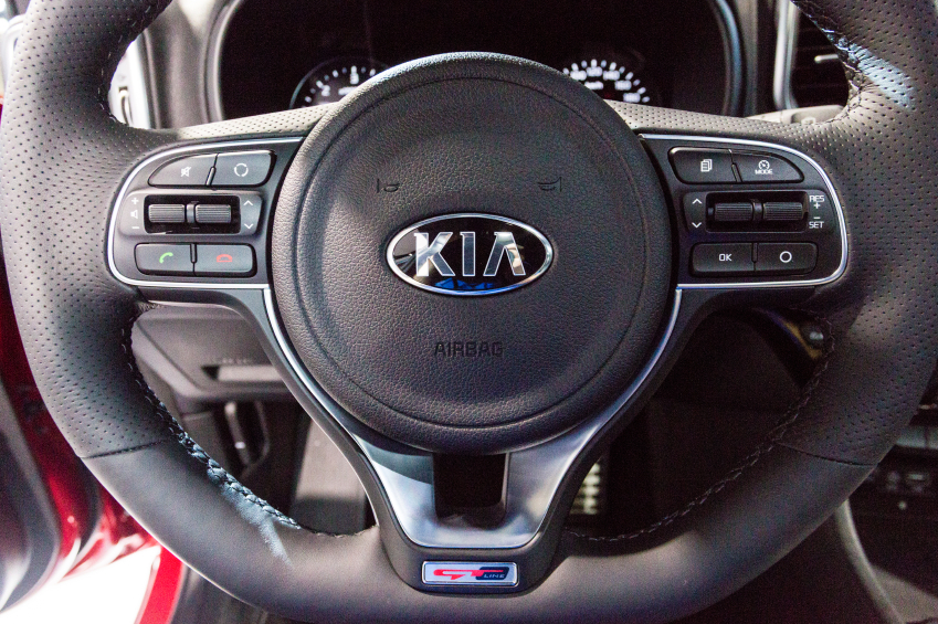 Kia is breaking into the hybrid market with its new hybrid utility vehicle.