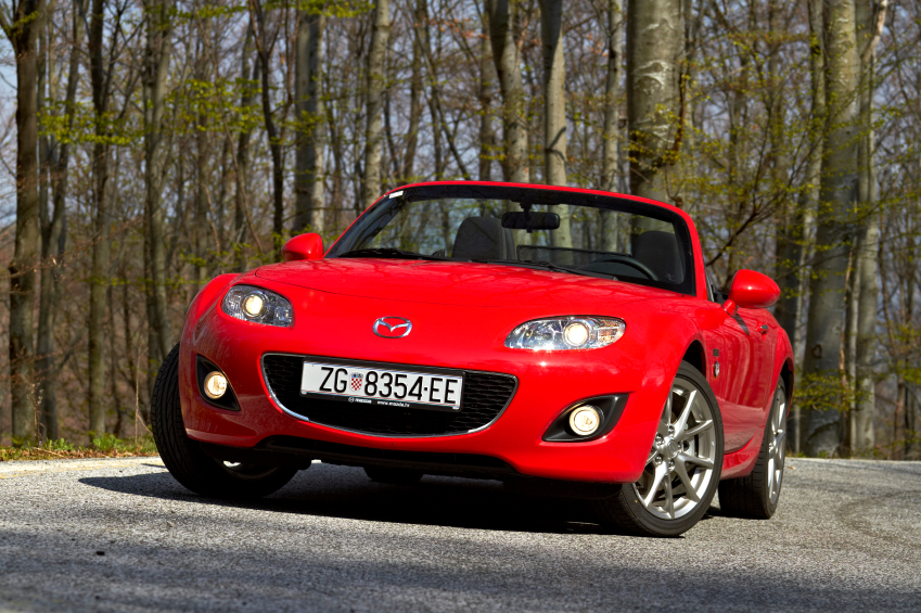 The S-FR was designed to compete with the Mazda MX-5 Miata.