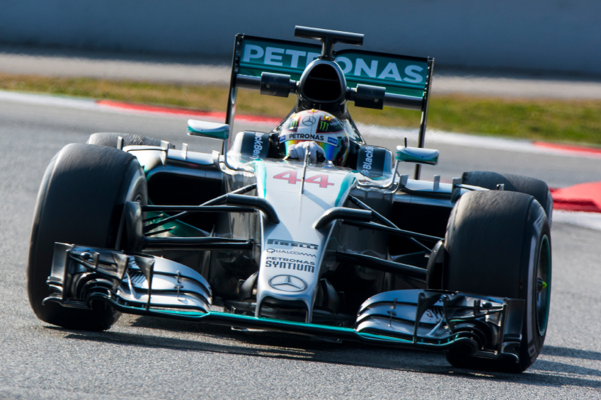 The Mercedes F1 team looks unbeatable at the moment.