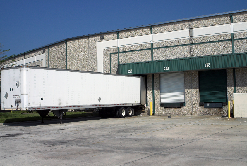 Freight forwarding companies have warehouses to house incoming and outgoing inventory.
