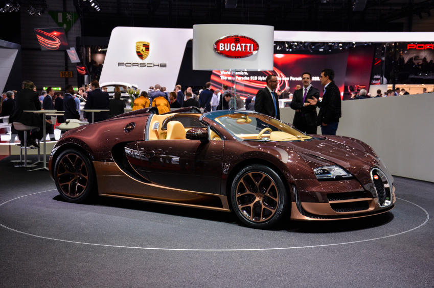 The Geneva auto show hosts exciting unveilings every year