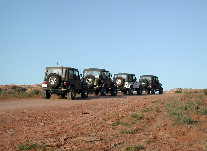 Thousands of enthusiasts will take part in this year's Easter Jeep Safari