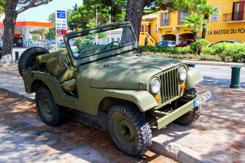 The Jeep Shortcut is a modified version of the CJ-5