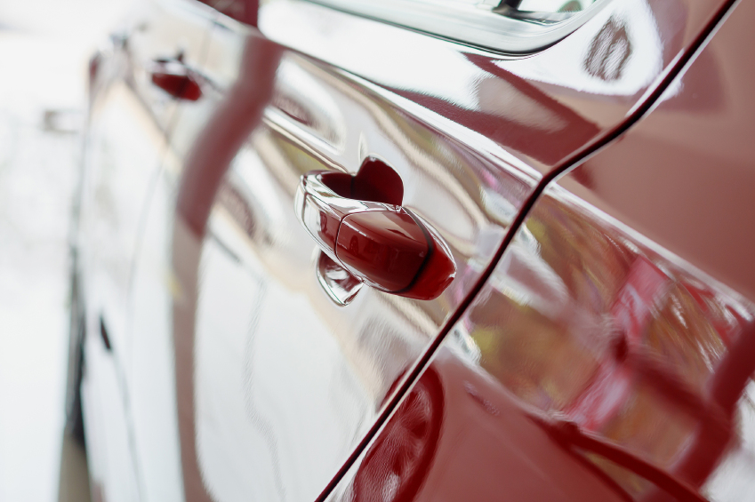 Synthetic sealants give car paint a truly glossy look