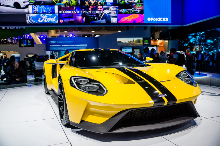 Just 500 models of the new Ford GT will be produced