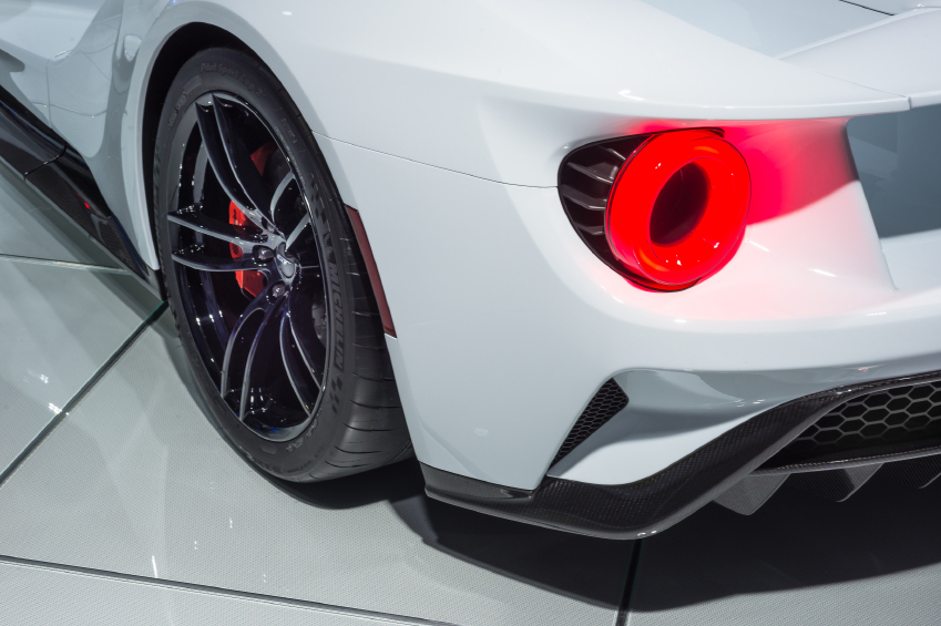 The GT has a unique vent for airflow in the center of each taillight