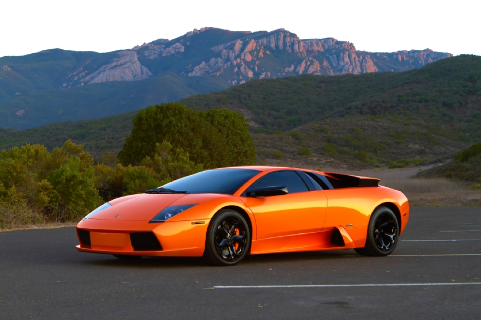 Lamborghini's famed V12 was used right up until the production of the Mucielago