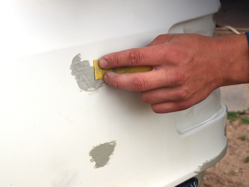 Sealing rust can be an easy method to keep your clients' cars looking new!