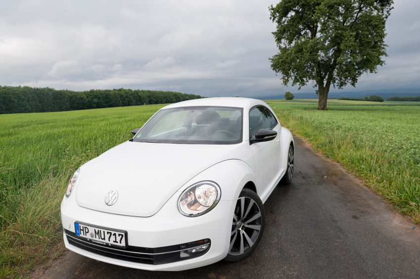 The third generation Beetle was introduced in 2012