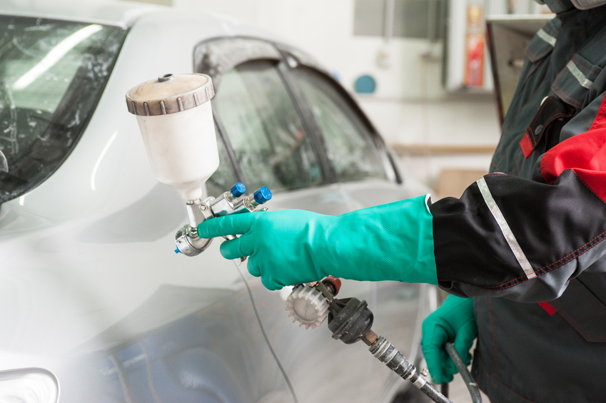 An automotive painter apprenticeship