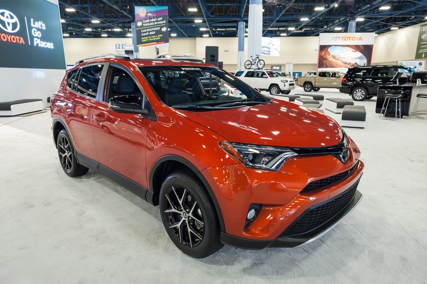 The Toyota Rav4 is manufactured at one of Ontario's award-winning plants