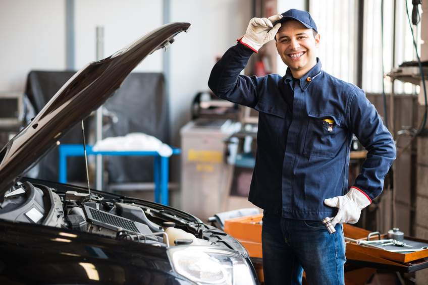 Being friendly and communicating well with customers is an important part of being a mechanic
