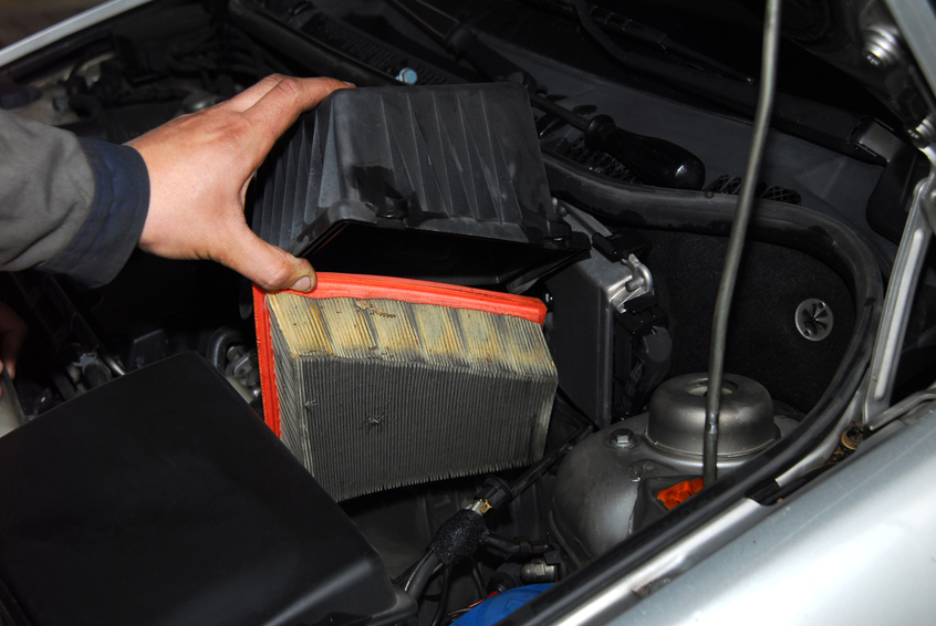Check your client's air filter for them if you're doing some engine detailing work