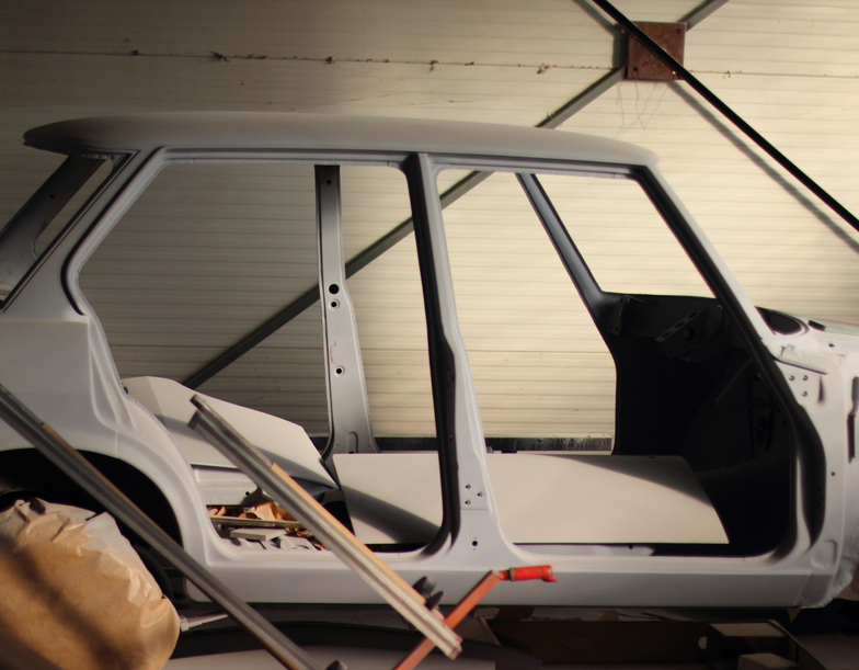 Often cars need to be sanded down to the metal to paint