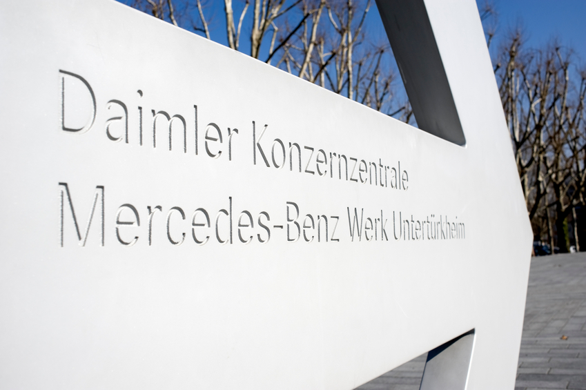 Professionals beginning their automotive careers should learn about Daimler's new managerial changes