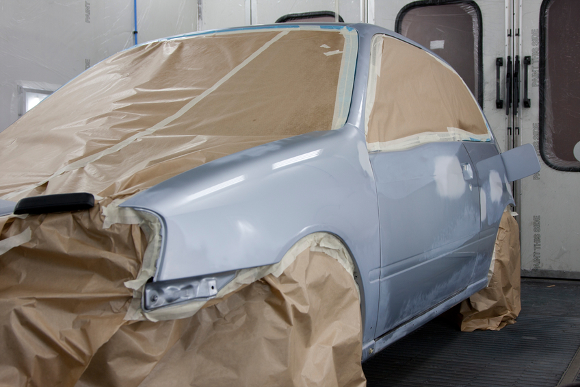 These four steps for auto painting are what professionals use day in and day out and are what you'll need to remember for your auto painting career.