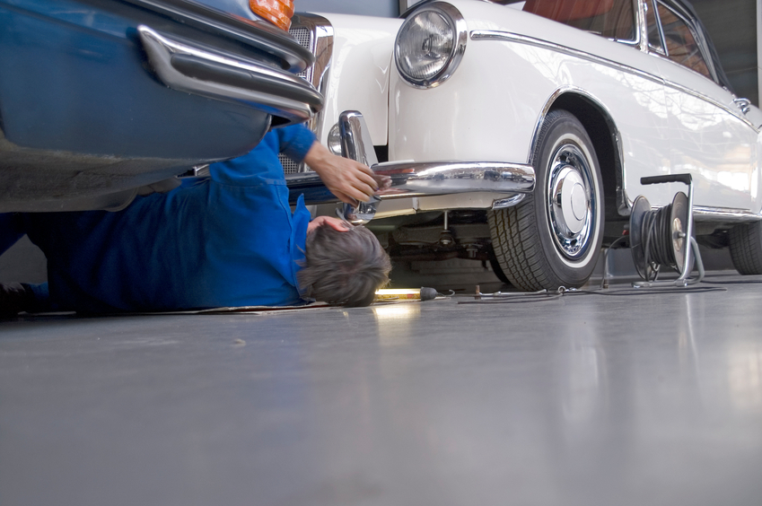 You might go on to work on classic cars in your auto body technician career