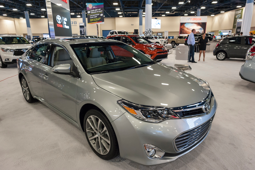 The Toyota Avalon is the only large car to achieve a TSP+ rating in 2016