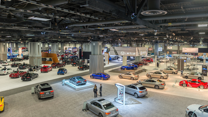 Auto shows are a great chance to see vehicles before they come onto the market