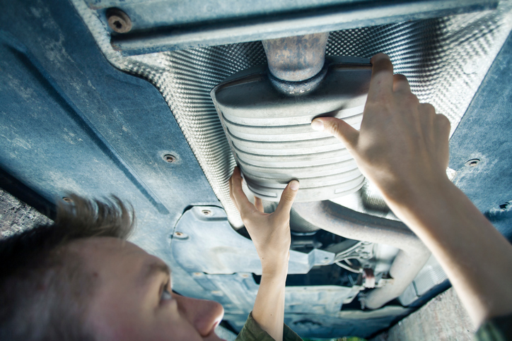 For some cars, costs for muffler repair can go into the hundreds of dollars
