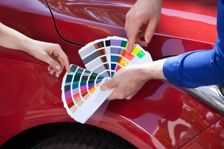Matching Paint Colours What Students In Car Painting