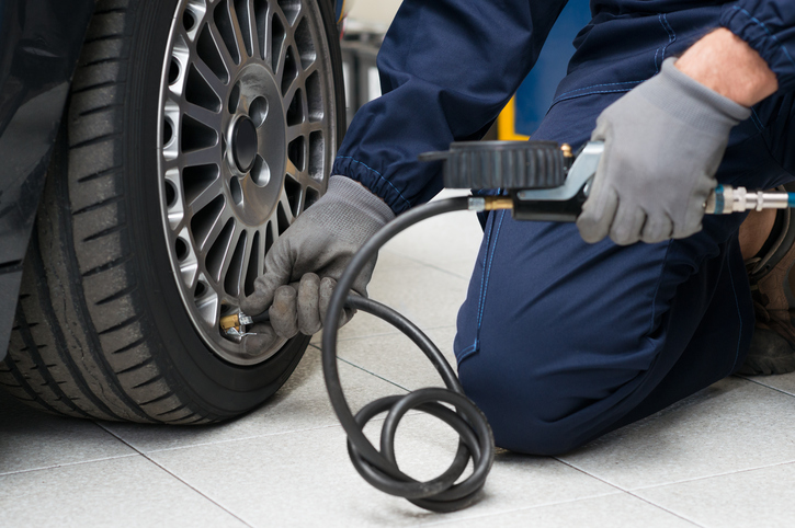 Auto service advisors will notice that hot weather can lead to an increase in flat tires