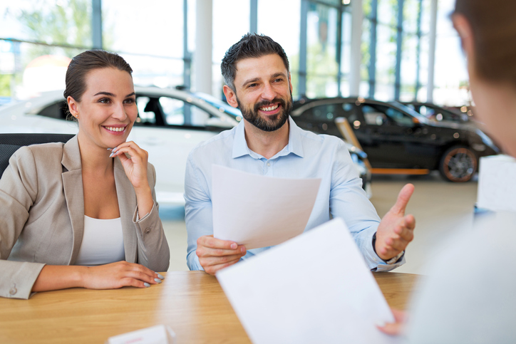 When leasing a car, buyers pay for depreciation and the money factor