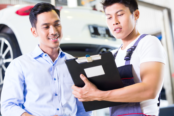automotive service advisor training