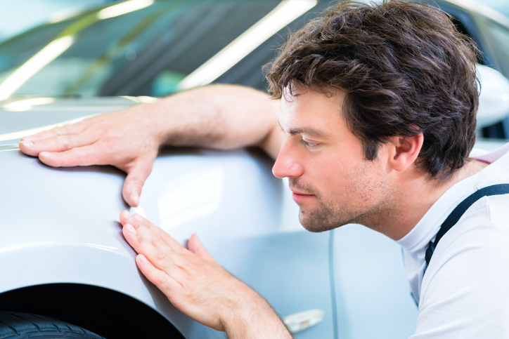 Successful auto body repair technicians tend to have an eye for detail