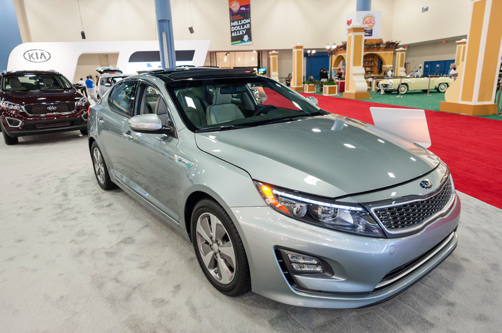 The Kia Optima Hybrid is an affordable and reliable hybrid choice