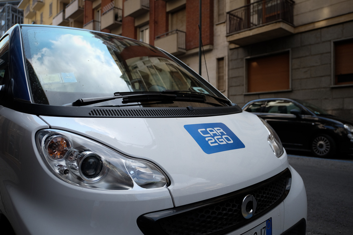 Car sharing companies like Car2Go are revolutionizing the rental industry